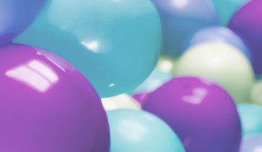 Archi di palloncini: semplici ma d'effetto.